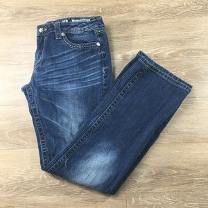 Miss me Boot Cut Dark wash size 34